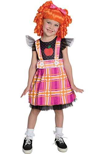 [Mememall Fashion Lalaloopsy Deluxe Bea Spells-A-Lot Toddler/Child Costume] (Lalaloopsy Adult Costumes)