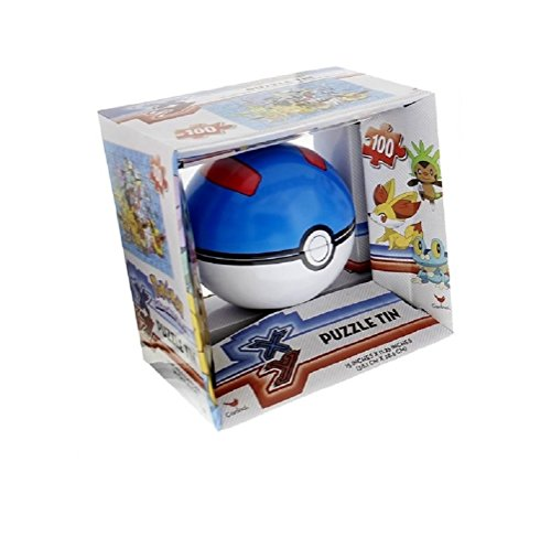 NEW Hot SELLER Toddler Kids Teens Christmas Holiday POKEMON POKE BALL PUZZLE TIN (Homemade Kids' Tin Man Costume)