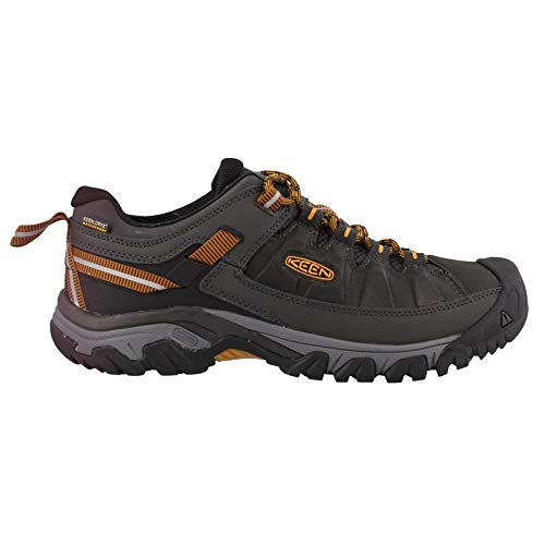 KEEN Targhee Exp Wp M Raven/Inca Gold Mens Hiking Shoe Size ()