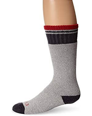 Men's Steel Toe Merino Wool Blend Boot Crew Socks