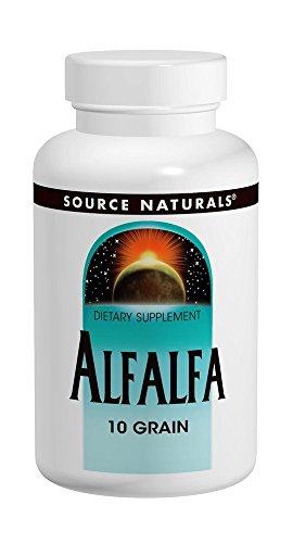 Source Naturals Alfalfa 10 Grain, 648mg, 500 Tablets