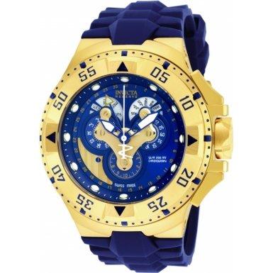 Invicta Men's 18558 Excursion Quartz Multifunction Blue Dial Watch - Excursion Blue Dial