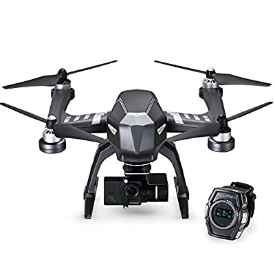 Follow Me Sports Drone - Hands-Free XWatch Controls With 4K Ultra HD Sports Camera - Shoot Your Action In Epic Clarity And Detail by FLYPRO