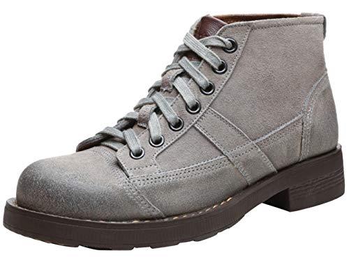 High Grey Help Camouflage Uomo Martin Fashion Boots Da Boots Workwear Stivaletti Rqx7wZpO