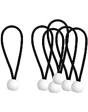 Tongina Heavy Duty Ball Bungee Canopy Tarp Tie Down Cord Elastic String Ball Bungee tarp Ball Ties