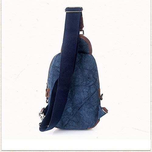 esterno per Blu tracolla Wagsiyi diagonale Borsa a Zaino a e per verde Pacchetto sportivo polivalente impermeabile borsa donna tracolla uso colore uomini versatile qBXxStxwP