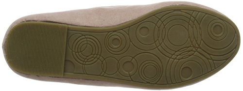 Extra Off Donna white Floral Ballerine Evans nude Wide pqdxBwFCF