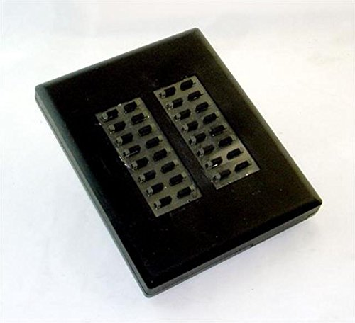 (Comdial Impression DU32X-FB Flat Black 32 Button DSS/BLF Console)