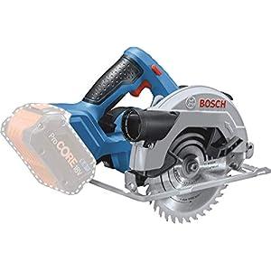 Bosch Professional 06016A2200 18 V system cordless circular saw GKS 18 V – 57 (Saw Blade Ø: 165 mm, Cutting Depth: 57 mm…