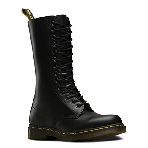 Dr. Martens 1914 Smooth Black 14 Eye Boots 1NPYU