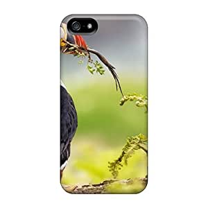 Case Cover Protector For iphone 4 4s Animals Puffin Birds Case