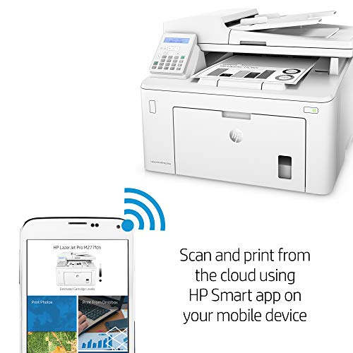 HP LaserJet Pro M227fdn All in One Laser Printer with Print Security, Amazon Dash Replenishment ready (G3Q79A). Replaces HP M225dn Laser Printer by HP (Image #7)