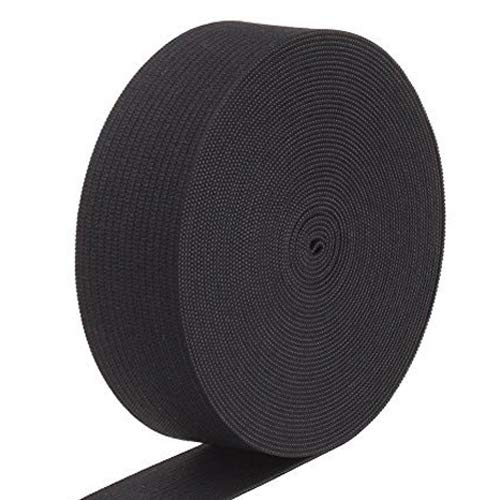 Best Deals! BeRicham 18 Yard High Elasticity Thicker Elastic Spool for Arts, Crafts & Sewing, Black ...