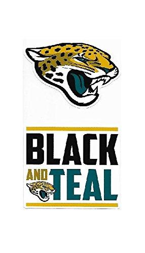 - NFL Jacksonville Jaguars Double Up Die Cut 2-Piece Sticker Sheet
