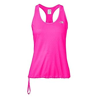The North Face Women's Eat my Dust Tank Glow Pink Large