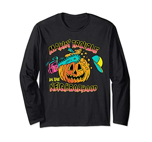The Fresh Prince Halloween Running Bone Long Sleeve T-Shirt