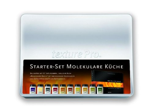 Starter-Set Molekulare Küche: Baukasten Mit 10 Texturgebern