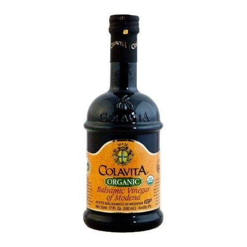 Colavita Organic Balsamic Vinegar of Modena 17 oz (Pack of 3)