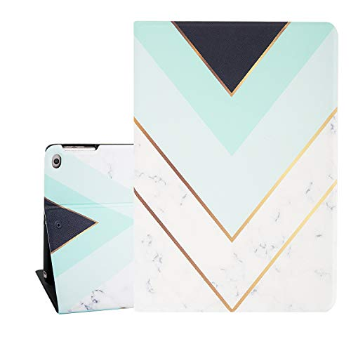 Marble Golden Stripes Tablet Wakeup