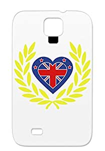 TPU Symbols Shapes For Sumsang Galaxy S4 Yellow Corona New Ziland 2 Case Cover
