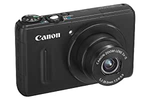 Canon PowerShot S100 - Cámara Digital 12.1MP, color negro