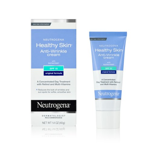 Neutrogena Healthy Skin Crème anti-rides, SPF 15, 1,4 once (Pack de 2)