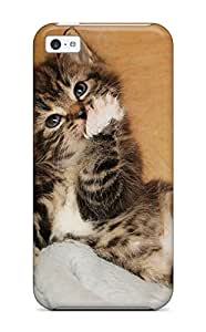 Tpu Case Cover For Iphone 5c Strong Protect Case - Im So Cute I Eat Myself Design