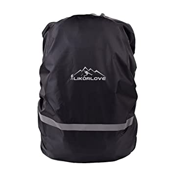 Likorlove Waterproof Backpack Rain Cover 30L-40L with Reflective Strip for Hiking//Camping//Traveling//Outdoor Activities