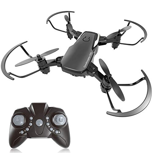 BOBOO drone Foldable RC Quadcopter with Altitude Hold Mode – Black