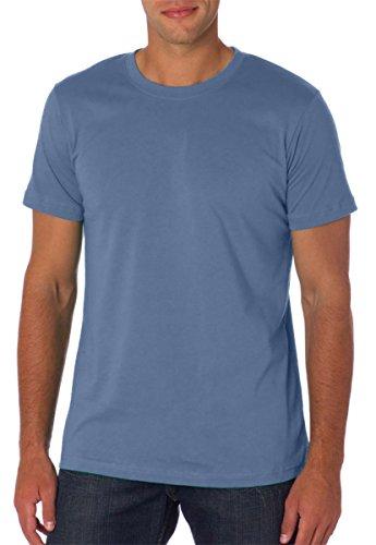 Bella 3001 Unisex Jersey Short Sleeve Tee - Steel Blue, 3XL - Banana Fitted Jersey T-shirt