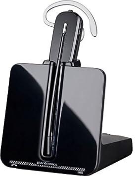 Plantronics CS540 - Auriculares con micrófono (Inalámbrico, DECT, Centro de llamadas/Oficina