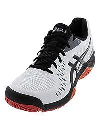 ASICS Gel Challenger 12 Mens Tennis Shoe (White/Black) (7.5)