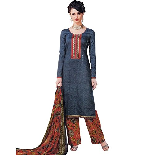 Ready-Made-Cotton-Printed-Palazzo-Pants-Salwar-Kameez-Suit-Indian