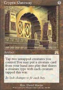 Magic: the Gathering - Cryptic Gateway - Onslaught - Channel Gateway