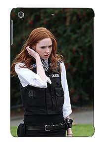 E03a8ce7454 Case Cover, Fashionable Ipad Mini/mini 2 Case - Women Uniforms Redheads Tights Karen Gillan Amy Pond Eleventh Doctor Doctor Who