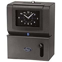 Lathem Heavy-Duty Manual Time Clock for Day of Week, Hour (1-12) and Minutes (2121)