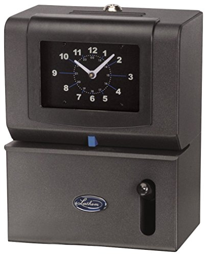 092447000033 - Lathem Heavy-Duty Manual Time Recorder, Cool Gray carousel main 0