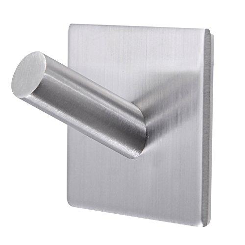 Metal Epoxy Heavy Duty : Bathroom towel hooks m self adhesive wall heavy