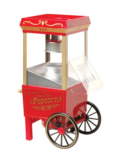 082677135018 - Nostalgia OFP501 Vintage Collection 12-Cup Hot Air Popcorn Maker carousel main 2
