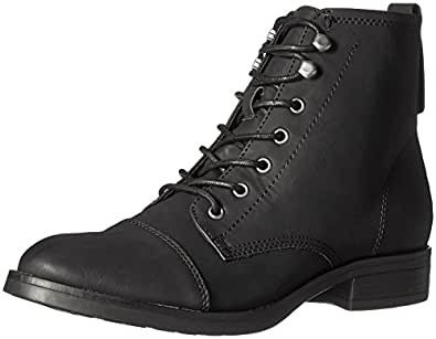 Madden Girl Women's fuze Ankle Bootie, Black Paris, 6 M US