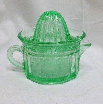 Vintage Green Depression Glass - 7