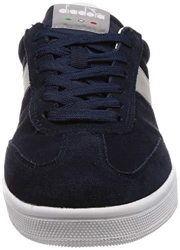 Diadora Blanc Gray Homme C6125 Field Paloma Bleu Chaussures Nuits 5qIPWHw