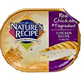 Nature's Recipe Chicken Recipe in Broth Adult Canned Cat Food, Case of 18, My Pet Supplies