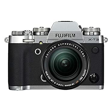 Fujifilm X-T3 Mirrorless Digital Camera w/XF18-55mm Lens Kit Silver