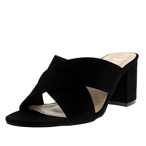 Pictures of Viva Womens Open Toe Cut Out Mules 1