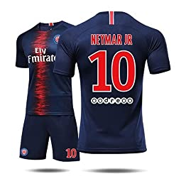 Uniforme de Football - Maillot Neymar 10# de Paris Saint-Germain Club, Maillot d'entraînement de Football et t-Shirt