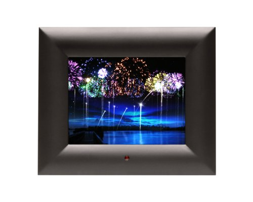 FrameWizard 7-Inch Digital Picture Frame Includes MatteMagic (Black) by FrameWizard