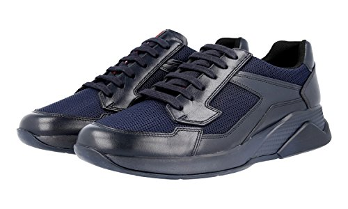 Prada Men's 4E2816 Leather Trainers/Sneaker free shipping best wholesale shop offer sast cheap online pay with paypal online exclusive cheap price HbzVzWtQ0
