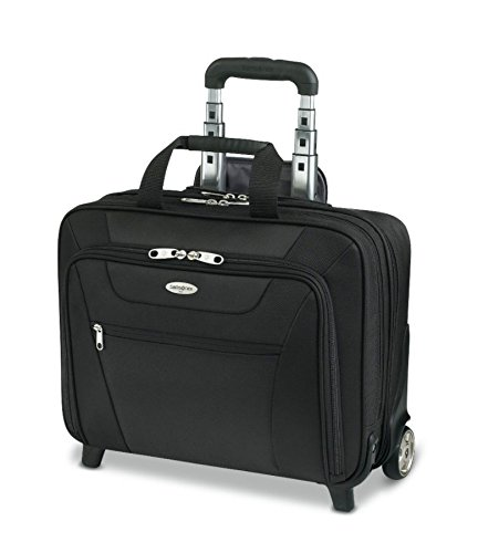 Samsonite(R) Wheeled Business Case, 13in.H x 17in.W x 6 1/2in.D, Black by Samsonite