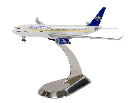 Dragón modelos iberworld compañías aéreas A330–200Diecast Aviones con soporte de metal, escala 1: 400